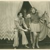 Ray Bolger (Sapiens) and Bertha Belmore (Pomposia) in By Jupiter]