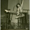 Ray Bolger (Sapiens) in rehearsal for By Jupiter