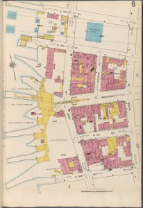 Brooklyn V. 3, Plate No. 6 [Map bounded by S.5th St., Wythe Ave., S.9th St., East River]