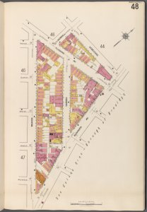 Brooklyn V. 3, Plate No. 48 [Map bounded by Morrell, Debevoise, Bushwick Ave., Beaver]