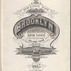 Insurance Maps of the Brooklyn city of New York Volume Four. Published by the Sanborn map co. 11, Broadway, New York. 1905.
