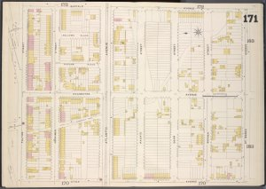 Brooklyn, V. 7, Double Page Plate No. 171 [Map bounded by Buffalo Ave., St. Marks Ave., Utica Ave., Fulton Sst.]