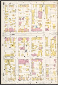 Brooklyn V. 8, Plate No. 11 [Map bounded by Fulton St., Hendrix St., Glenmore Ave., Wyona St.]