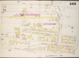 Brooklyn, V. 9, Double Page Plate No. 248 [Map bounded by Moore St., Humboldt St., Montrose Ave., Bogart St.]