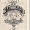 Insurance Maps of the Brooklyn city of New York Volume Nine. Published by the Sanborn map co. 11, Broadway, New York. 1907.
