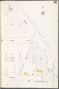 Brooklyn V. 10, Plate No. 90 [Map bounded by Remsen Ave., Ralph Ave., Church Ave., E. 57th St.]