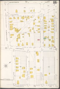 Brooklyn V. 12, Plate No. 66 [Map bounded by 17th Ave., 80th St., 19th Ave., 83rd St.]