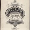 Insurance Maps of the Brooklyn city of New York Volume Fifteen. Published by the Sanborn map co. 11, Broadway, New York. 1907.