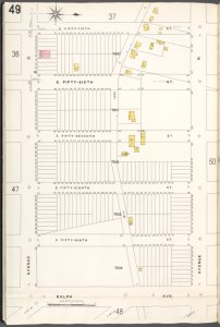 Brooklyn V. 15, Plate No. 49 [Map bounded by E.55thSt., Avenue N, Ralph Ave., Avenue O]