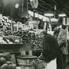 Plantains, and other tropical fruit and vegetables at the Park Avenue Market, East Harlem