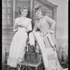 Jan Clayton (Julie Jordan) and Jean Darling (Carrie Pipperidge) in Carousel]