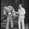 Jean Darling as Carrie Pipperidge, Murvyn Vye as Jigger Craigin, and Eric Mattson as Enoch Snow in Carousel