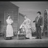 Jan Clayton as Julie Jordan, Jean Darling as Carrie Pipperidge, and Eric Mattson as Enoch Snow in Carousel