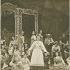 Christine Johnson (Nettie Fowler), Jean Darling (kneeling left as Carrie Pipperidge) and cast in Carousel]