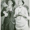 Marie Powers (Nettie Fowler) and Barbara Cook (Julie Jordan) in the 1957 revival of Carousel]