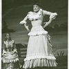 Barbara Cook (Julie Jordan) and Pat Stanley (Carrie Pipperidge) in the 1957 revival of Carousel]