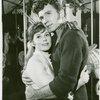 Eileen Christy (Julie Jordan) and John Raitt (Billy Bigelow) in the 1965 revival of Carousel]