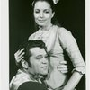 Bruce Yarnell (Billy Bigelow) and Constance Towers (Julie Jordan) in the 1966 revival of Carousel]