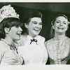 Nancy Dussault (Carrie Pipperidge), Patricia Neway (Nettie Fowler) and Constance Towers (Julie Jordan) in the 1966 revival of Carousel]