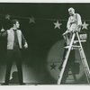 Bruce Yarnell (Billy Bigelow) and Parker Fennelly (Starkeeper) in the 1966 revival of Carousel]