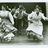 Audra McDonald (Carrie Pipperidge) and Shirley Verrett (Nettie Fowler) in the 1994 revival of Carousel]