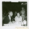 Richard Rodgers and Dorothy Rodgers at anniversary party for Flower Drum Song]