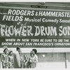 C.Y. Lee (novelist), Lily Valentine (Miss Pacific Festival) and girls of the St. Mary's Girls Drum Corp. at the unveiling of the Flower Drum Song billboard in Chinatown (San Francisco, Calif.)]