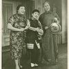 Juanita Hall (Madam Liang), Miyoshi Umeki (Mei Li) and Keye Luke (Wang Chi Yang) in Flower Drum Song]