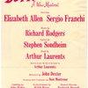 Richard Rodgers presents Do I hear a waltz? A new musical...
