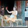 [Christopher Votos (Mauro), Elizabeth Allen (Leona Samish) and Fleury D'Antonakis (Giovanna) in Do I Hear a Waltz?]