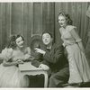 Martha Eggerth (Minnie Sorenson), Jack Haley (Zachary Ash) and Shirley Ross (Sandy Moore) in Higher and Higher]