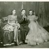 Shirley Ross (Sandy Moore), Jack Haley (Zachary Ash) and Martha Eggerth (Minnie Sorenson) in Higher and Higher]