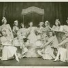 Martha Eggerth (Minnie Sorenson) and the Specialty Ensemble in Higher and Higher]