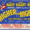 Higher and higher. Dwight Deere Wiman presents Jack Haley, Marta Eggert, Shirley Ross in Rodgers and Hart's newest musical comedy...
