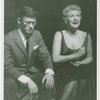 Bobby Van (Phil Dolan III) and Elaine Stritch (Peggy Porterfield) in the 1954 revival of On Your Toes]