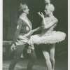 [Nicholas Orloff (Konstantine Morrosine) and Vera Zorina (Vera Barnova) in the 1954 revival of On Your Toes]