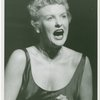 Elaine Stritch (Peggy Porterfield) in the 1954 revival of On Your Toes]