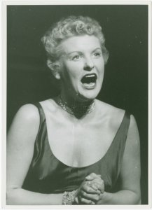 [Elaine Stritch (Peggy Porterfield) in the 1954 revival of On Your Toes]
