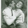 [Bobby Van (Phil Dolan III) and Vera Zorina (Vera Barnoff) in the 1954 revival of On Your Toes]