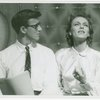 Bobby Van (Phil Dolan III) and Vera Zorina (Vera Barnoff) in the 1954 revival of On Your Toes]