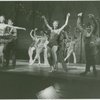 Cast in a scene from the 1954 revival of On Your Toes]