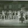 Vera Zorina (Vera Barnoff) and cast in the 1954 revival of On Your Toes]