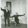 Ben Astar (Sergei Alexandrovitch) and Elaine Stritch (Peggy Porterfield) in the 1954 revival of On Your Toes]