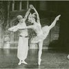 George De la Pena (Konstantine Morrosine) and Galina Panova (Vera Barnova replacement) in the 1983 revival of On Your Toes]