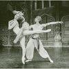 Galina Panova (Vera Barnova replacement) and George De la Pena (Konstantine Morrosine) in the 1983 revival of On Your Toes]