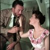 William Johnson (Doc) and Judy Tyler (Suzy) in Pipe Dream]