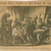 """Backstage these nights at """"I'd rather be right."""" The justices of the Supreme Court get feminine aid during a hurried change"""
