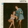 Cover of Theatre Arts magazine (September, 1953) featuring Joan McCracken (Betty Loraine) and Isabel Bigley (Jeanie) in Me and Juliet]