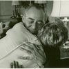 Richard Rodgers (Music) and Mary Martin (Maria Rainer) at reading of The Sound of Music]