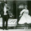 [Laurence Guittard (Captain Georg von Trapp) and Debby Boone (Maria Rainer) in the 1990 revival of The Sound of Music]